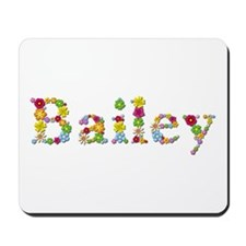 Bailey Bright Flowers Mousepad