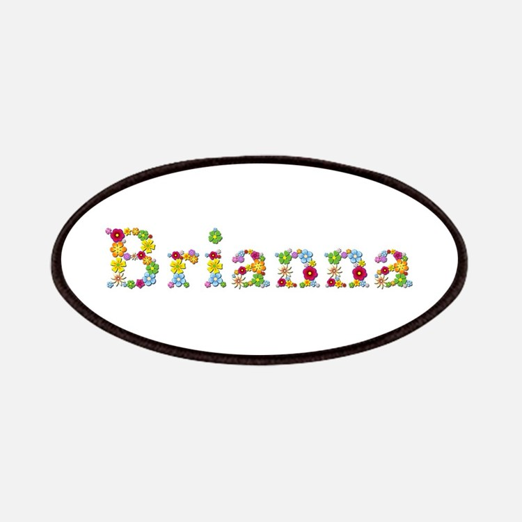 Brianna Bright Flowers Patch