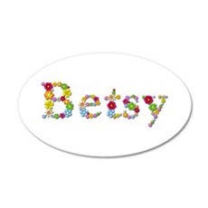 Betsy Bright Flowers Wall Decal