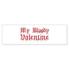My Bloody Valentine Bumper Bumper Sticker