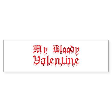 My Bloody Valentine Bumper Sticker