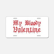 My Bloody Valentine Aluminum License Plate