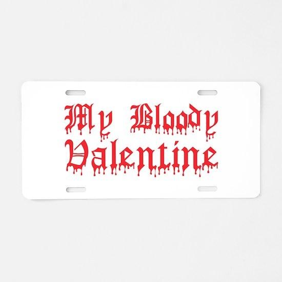 My Bloody Valentine Aluminum License Plate