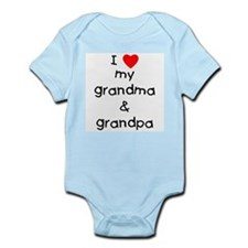 I Love My Grandma & Grandpa Infant Body Suit