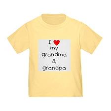 I love my grandma & grandpa T