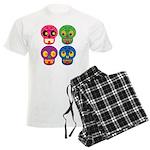 Colored skull pajamas