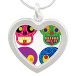 Colored skull Necklaces