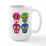 Colored skull Mugs