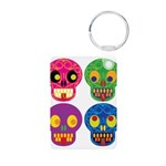 Colored skull Keychains
