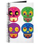 Colored skull Journal