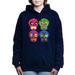 Colored skull Hooded Sweatshirt