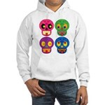 Colored skull Hoodie Sweatshirt