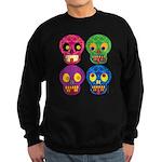Colored skull Sweatshirt