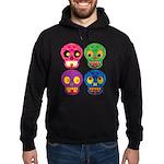 Colored skull Hoodie