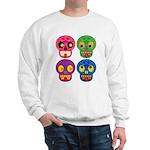 Colored skull Sweater