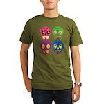 Colored skull T-Shirt