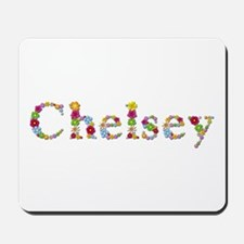 Chelsey Bright Flowers Mousepad