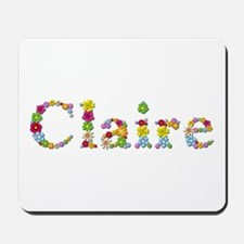 Claire Bright Flowers Mousepad