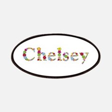 Chelsey Bright Flowers Patch