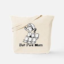 Ball Park Mom Tote Bag
