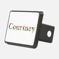 Courtney Bright Flowers Hitch Cover