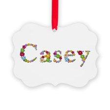 Casey Bright Flowers Ornament