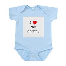 I love my granny Infant Bodysuit