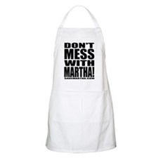 Don't Mess With Martha BBQ Apron