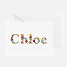 Chloe Bright Flowers Greeting Card