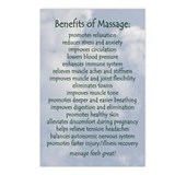 Massage therapy Postcards