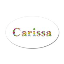 Carissa Bright Flowers Wall Decal
