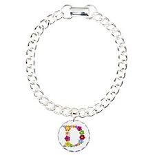 D Bright Flowers Bracelet