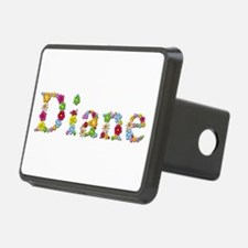 Diane Bright Flowers Hitch Cover