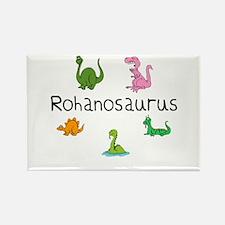 Rohanosaurus Rectangle Magnet