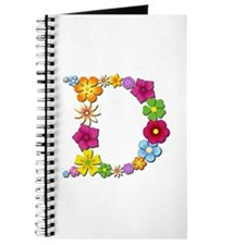 D Bright Flowers Journal