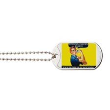 Strong Chicks Dog Tags