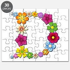 D Bright Flowers Puzzle