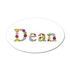 Dean Bright Flowers Wall Decal