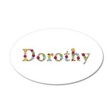 Dorothy Bright Flowers Wall Decal