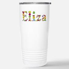 Eliza Bright Flowers Travel Mug