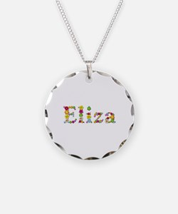 Eliza Bright Flowers Necklace