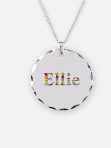 Ellie Bright Flowers Necklace