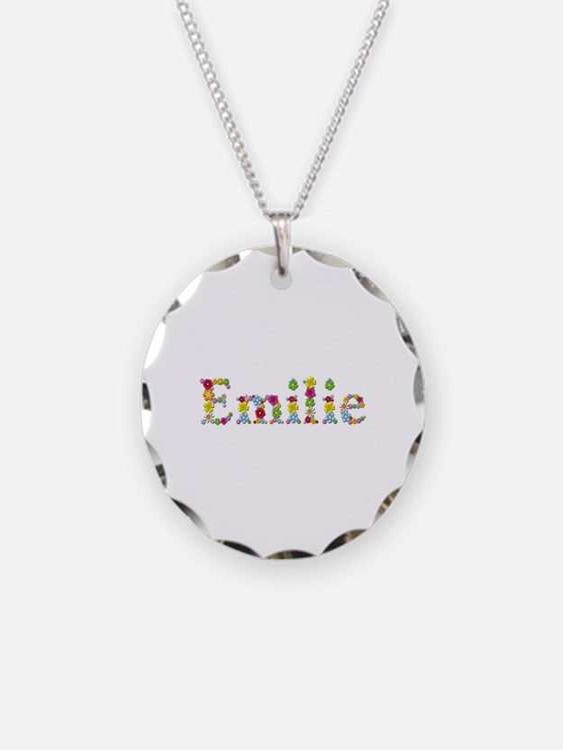 Emilie Bright Flowers Necklace