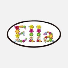 Ella Bright Flowers Patch