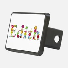 Edith Bright Flowers Hitch Cover