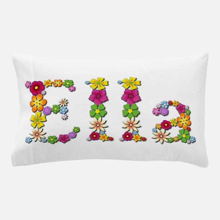 Ella Bright Flowers Pillow Case