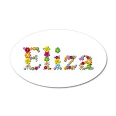 Eliza Bright Flowers Wall Decal