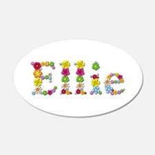Ellie Bright Flowers Wall Decal