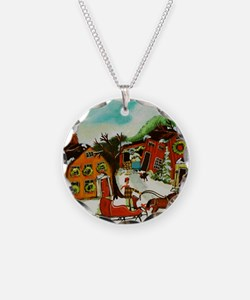Fetching the Christmas Tree Necklace