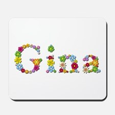 Gina Bright Flowers Mousepad